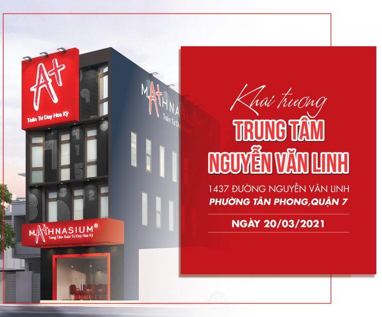 Khai truong Mathnasium Nguyen Van Linh